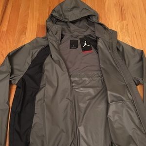 eab2d7df0 Nike Air Jordan Wings Windbreaker Zip Hood Jacket NWT